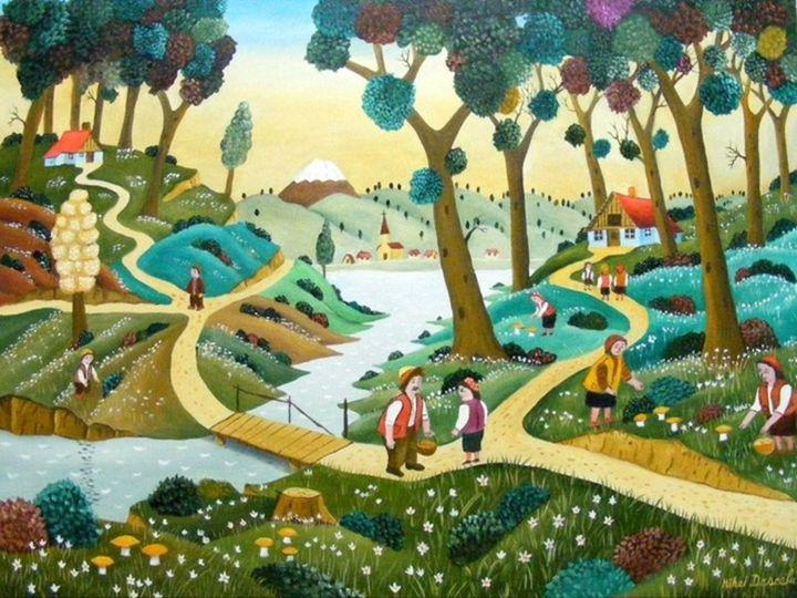 In the forest - Mihai Dascalu