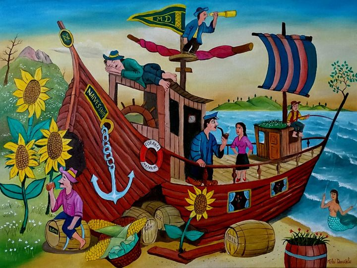 Naive's ship - Mihai Dascalu