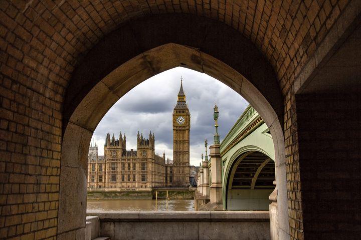 Big Ben Through The Arch - Milton Cogheil Photography