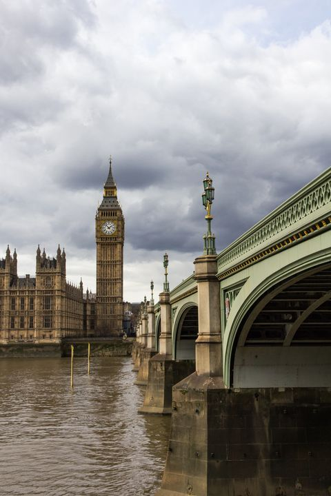 Big Ben and the River Thames - Milton Cogheil Photography