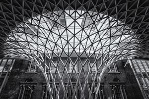 Kings Cross Station Ceiling