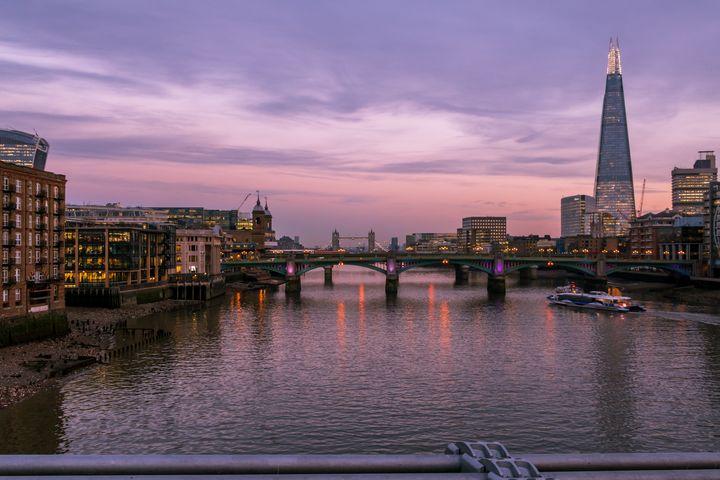London River Thames Cityscape - Milton Cogheil Photography