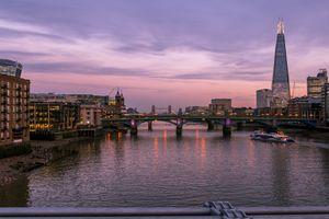London River Thames Cityscape