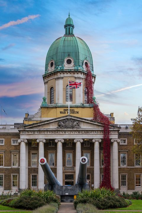 Imperial War Museum Poppies - Milton Cogheil Photography