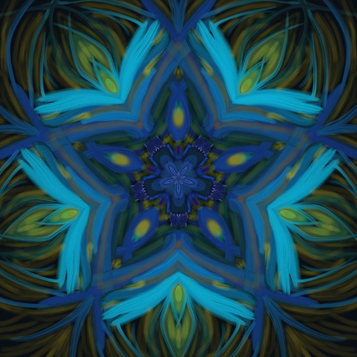 Blue star - House of Nika