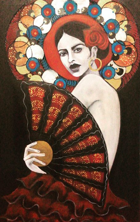 Beautiful flamenco - ArtByTani