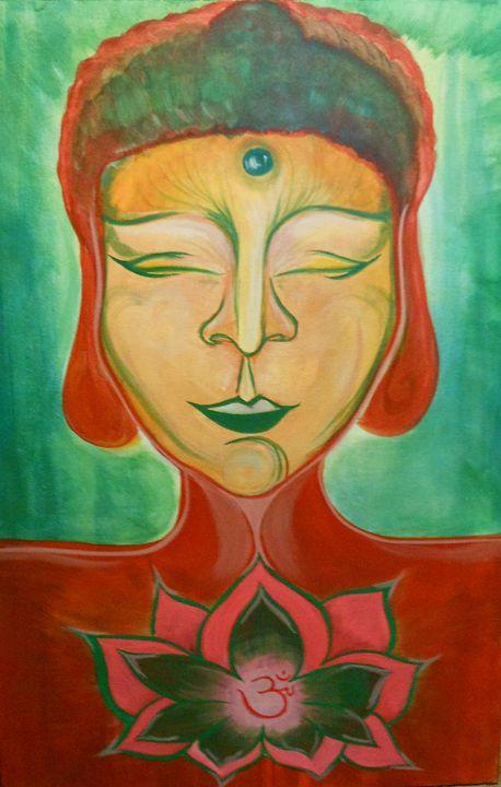 Peaceful Buddha - Shawn Pilgrim Artistry