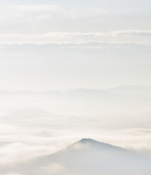 Smokey Mt. Morning. - Lens Print