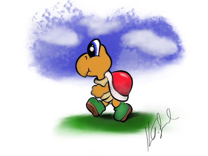 Koopa - Digital art by Kel