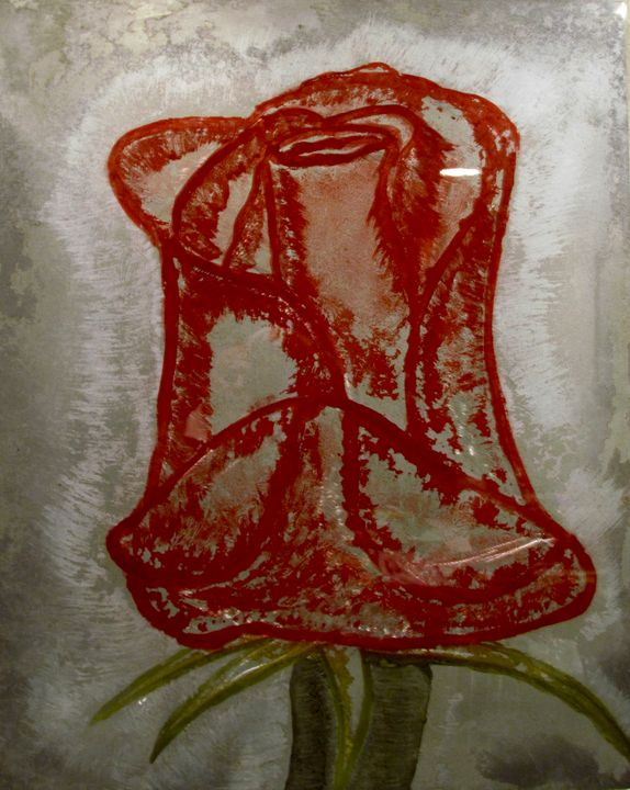 Blood Rose - Paulo Silva Art & Design