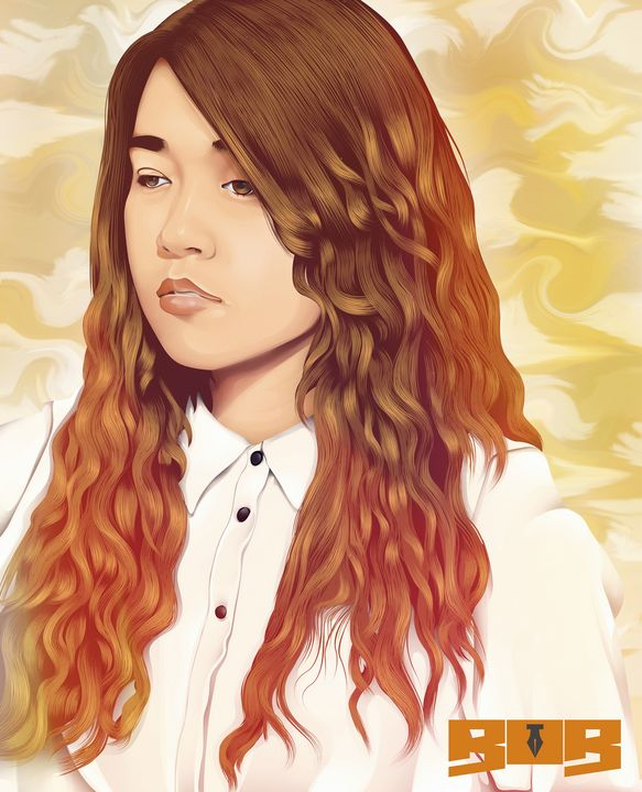 Angel curly hair - Bob Art