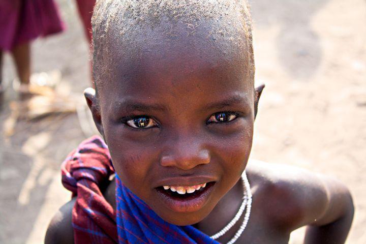 Maasai Child - Brittany Malaika Renner