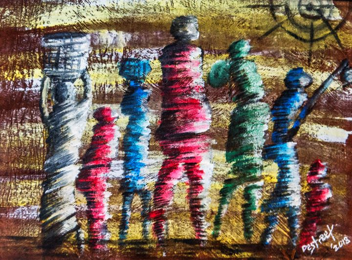 Harvest - Destreet Art Gallery Africa