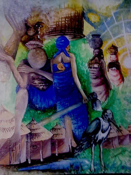 The story of My village - Destreet Art Gallery Africa