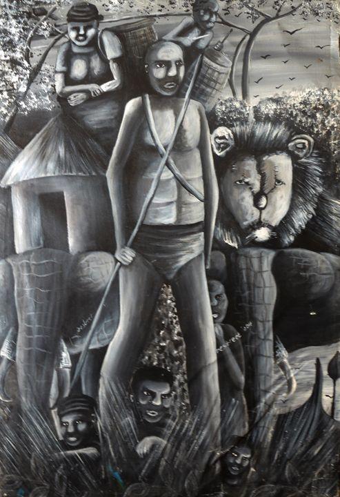Story of Africa - Destreet Art Gallery Africa