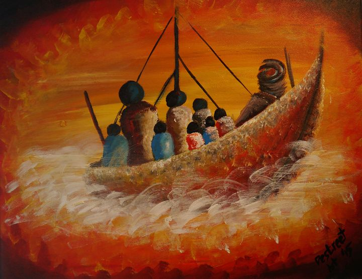 THE LOST BOAT - Destreet Art Gallery Africa