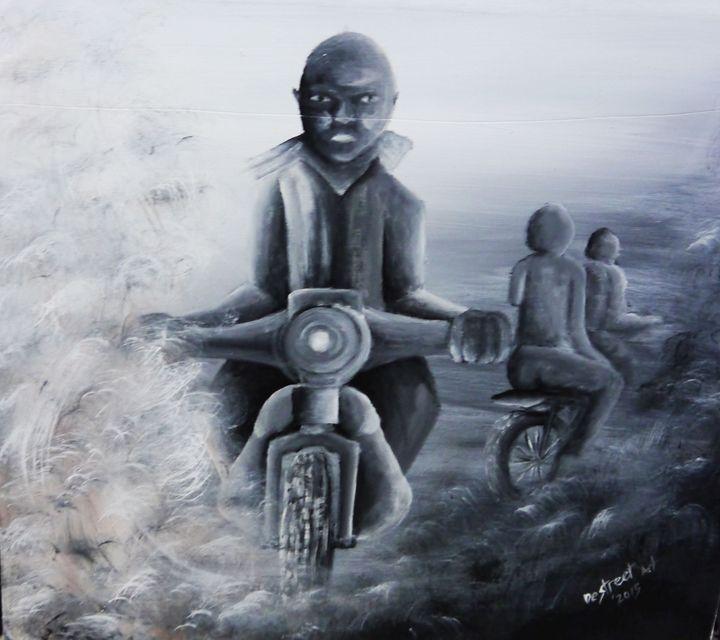 Boarder to Boarder - Destreet Art Gallery Africa
