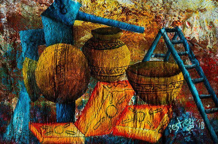 Water collection point - Destreet Art Gallery Africa