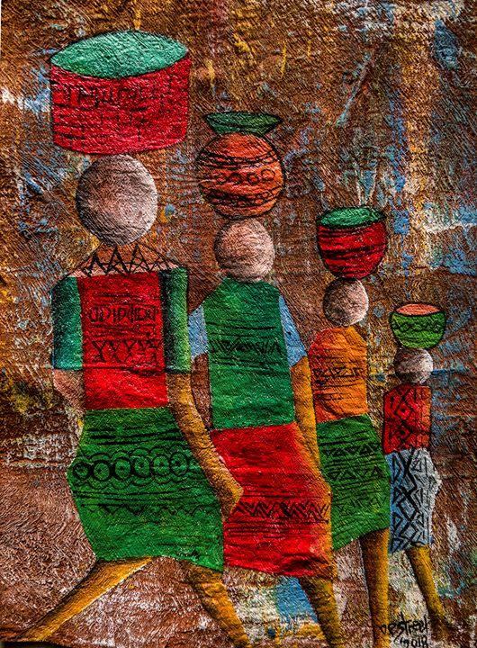 Contemporary story of African Women - Destreet Art Gallery Africa