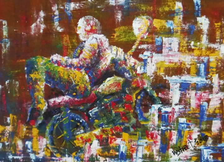 TIRED OF THE HUSTLE - Destreet Art Gallery Africa