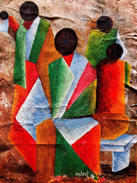 Original meeting point - Destreet Art Gallery Africa