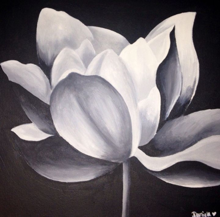 Lotus Flower - Daniela's Art