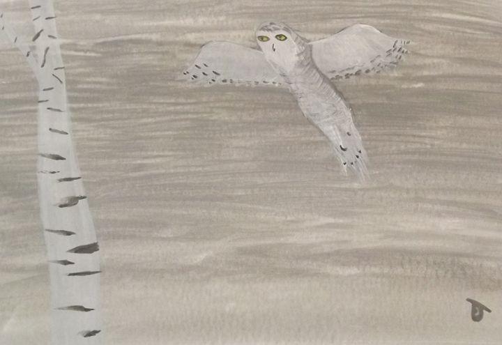 Owl Flight - Rachel Outhouse