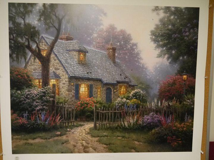 Foxglove Cottage - THOMAS KINKADE COLLECTION
