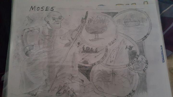 Moses - Joshua Osswald