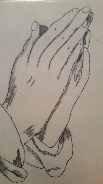 Praying hands - Joshua Osswald