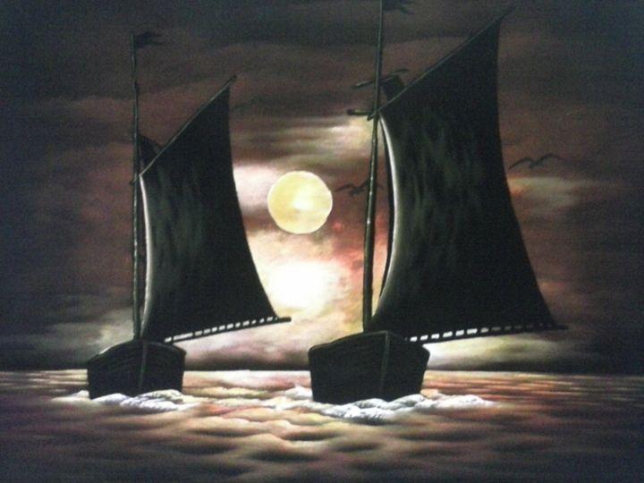 Boats - Arunadeepa Lelwala