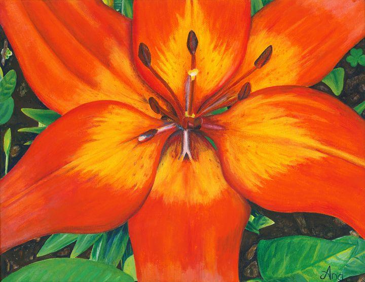 Lily - Art by Anama