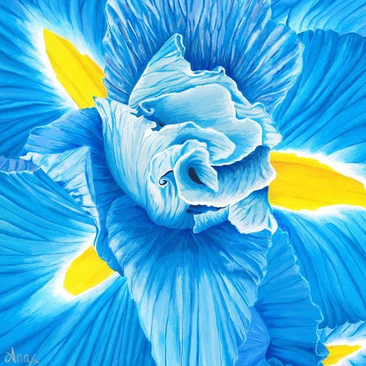 Blue Iris - Art by Anama