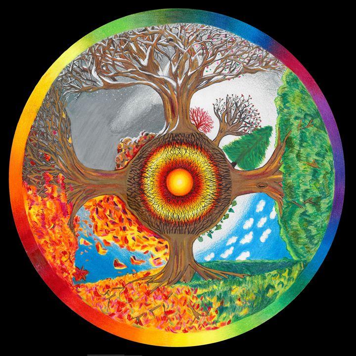 Seasons - Art by Anama
