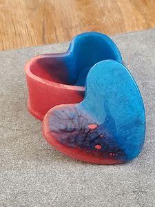 Rainbow Heart Box