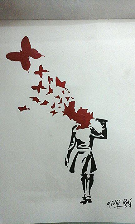 Malala..a butterfly effect! -  Jaimonu