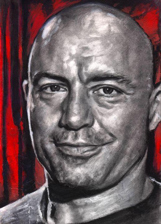 Joe Rogan Drawing - Art Therapy
