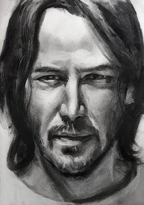 Keanu Reeves Drawing