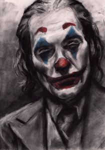 Joker Drawing (Joaquin Phoenix)