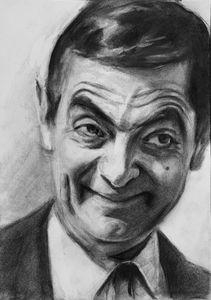 Mr Bean Drawing
