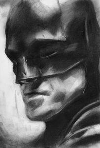 Batman Drawing (Robert Pattinson)