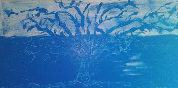 Blue sea tree - Lilians Place