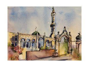 Mosque in Amman-Jordan