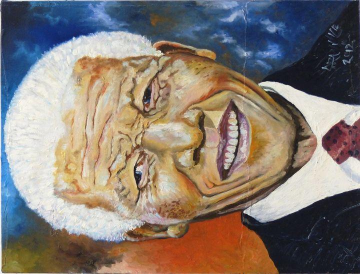 Painting Nelson Mandela - ArtEddy