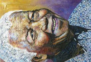 Painting Nelson Mandela