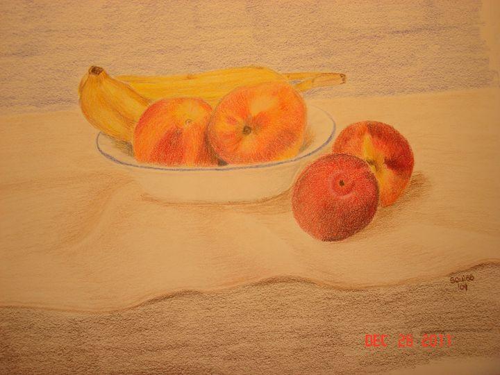 Peaches, Plums & Bananas - Michele L. Squibb