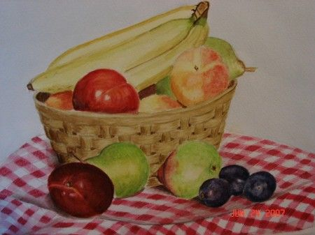 Basket of Fruit - Michele L. Squibb