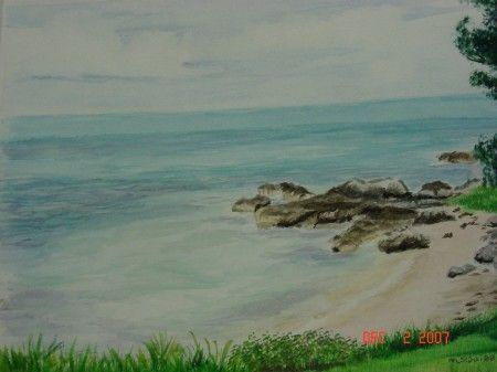 Bermuda Beach - Michele L. Squibb