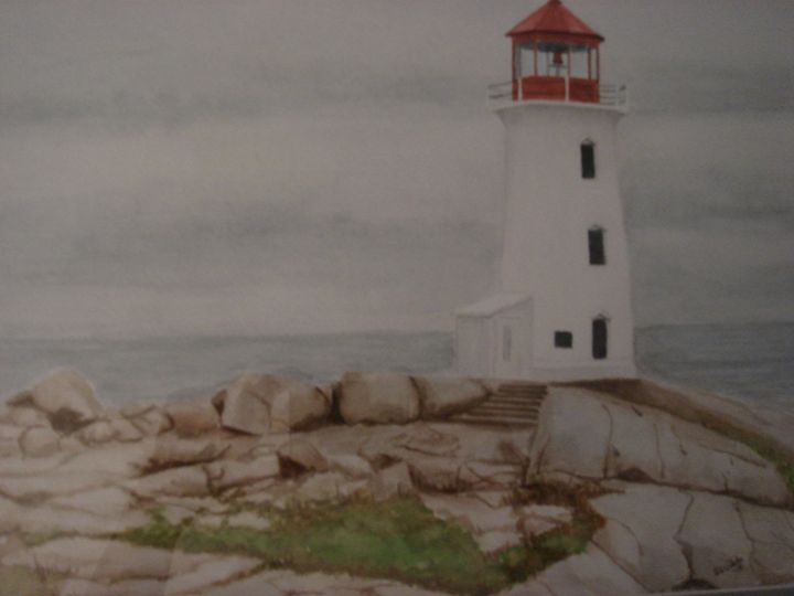 Peggy's Cove Lighthouse - Michele L. Squibb
