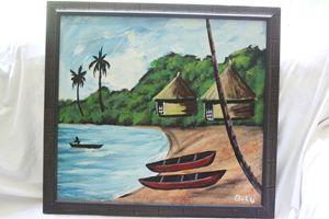 Artist John Barbor Bulu
